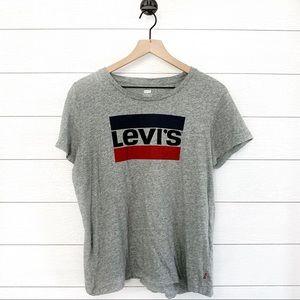 Levi's gray women's graphic tee